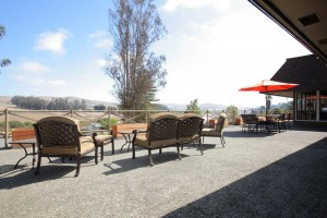 Outside patio at Rehab Center