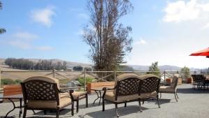 Rehab center outside patio