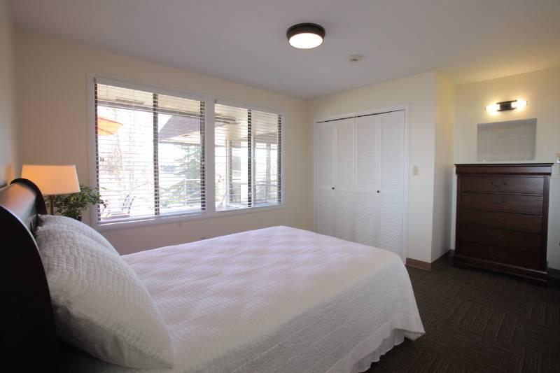 bedroom inside Olympia House Rehab